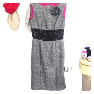 Grey Vintage Muse Dress 2 formal business